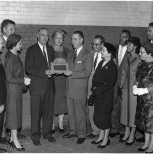 Edgecombe Extension Staff receiving Award for Superior Service from the United State Department of Agriculture