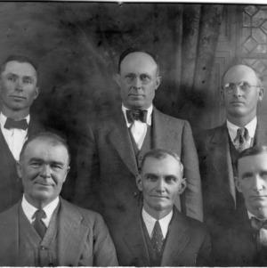 Pitt County Farmers group Board of Directors group portrait