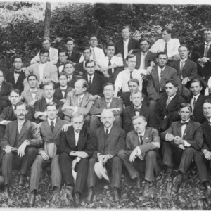 Agricultural conference group portrait