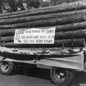 Float Displays Load of Logs