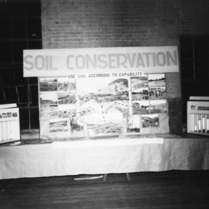 Farm and Home Week Soil Conservation Exhibit