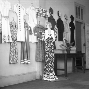 Farm and Home Week Clothing Exhibit