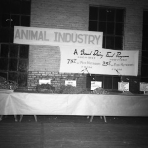 Farm and Home Week  Animal Industry Exhibit