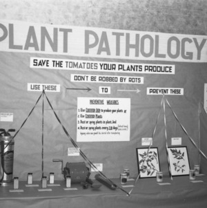 Farm and Home Week Plant Pathology Exhibit