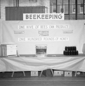 Farm and Home Week Beekeeping Exhibit