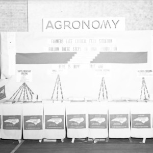 Farm and Home Week Agronomy Exhibit