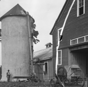Pender Cattle Barn and Silo