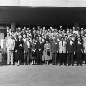 Group Photograph, Farm Press and Radio Institute
