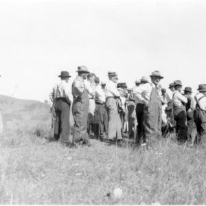 Stanley Harris, demonstration farm, Watauga County farm tour