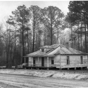 The James Gradys' old house, where they lived for 18 years