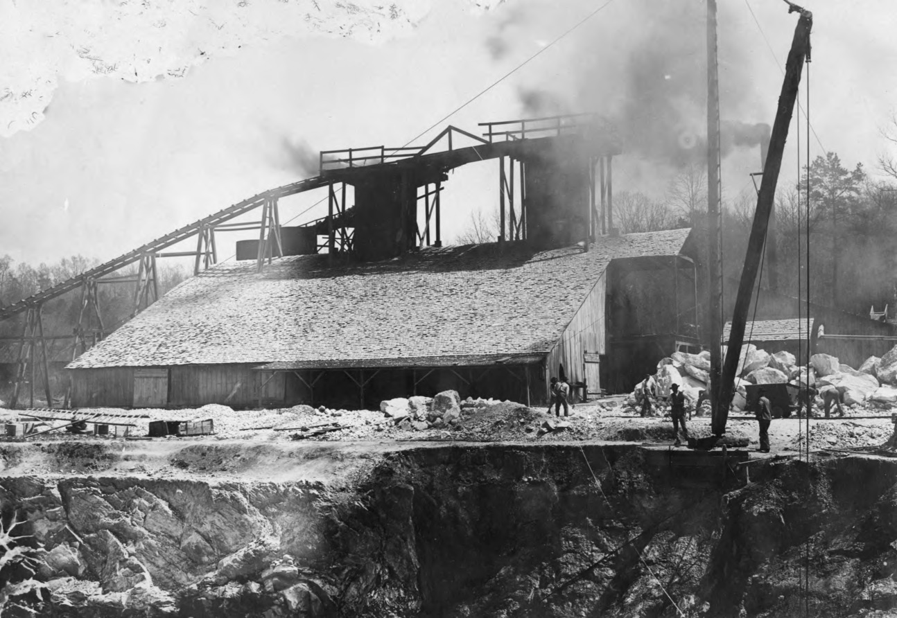 Lime Kiln and Quarry, Blue Ridge Lime Company