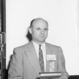Dr. Elliott Roy Barrick speaking