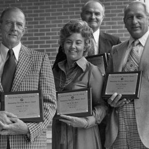 Group with University awards