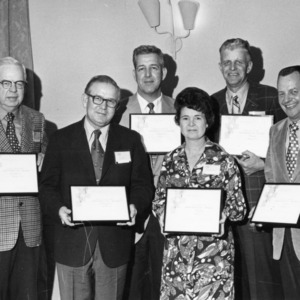 County agricultural extension agents, performance awards