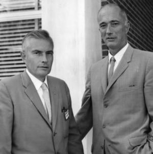 George Hyatt with man
