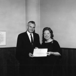 George Hyatt with Secretary
