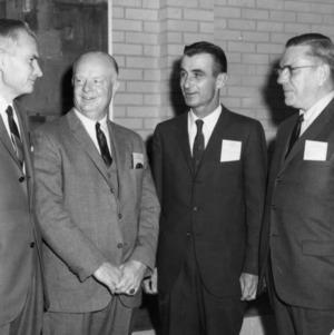 George Hyatt with Three Men