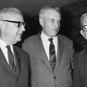 George Hyatt with Two Men