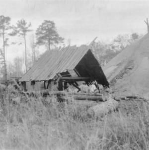 Typical Sawmill Scene, Eastern N.C.