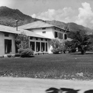 Administrative Building, Agricultural Experiment Station, Tingo Maria, Peru