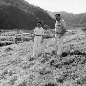 Ing[°] Vargas and Dr. Hubbell, Pasture of Carpet-Grass, Peru