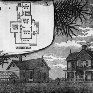 Drawing of Agricultural Research Station