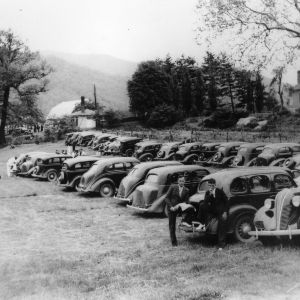 Field Day at Swannanoa Station, 1937