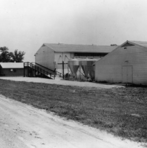 Poultry houses at Piedmont Research Station