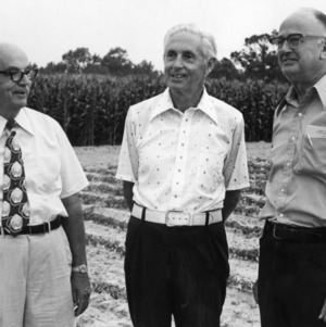 Kenneth R. Keller,  Ralph W. Cummings  and Roy L. Lovvorn at Upper Coastal Plain Research Station