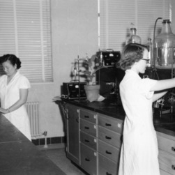 Science Experiments at Williams Hall - Radiation laboratory