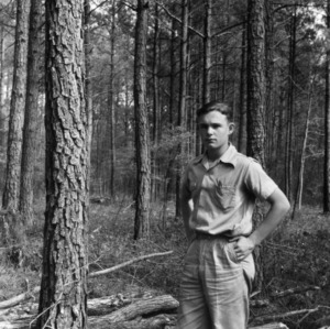 Jack Ray Tart and his timber thinning project