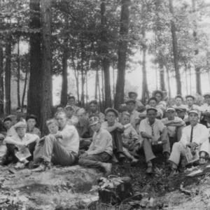 Farm Club Boys at Tri-County Encampment, 1926