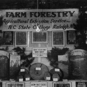 Farm Forestry Exhibit at Catawba County Fair