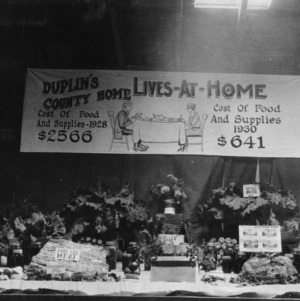 Duplin County Home's Live-at-Home exhibit at Warsaw Fair