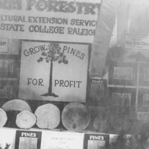 Farm Forestry Exhibit at Golden Belt Fair