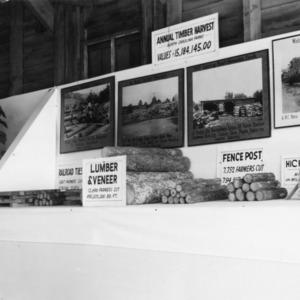 Farm Forestry Exhibit at Upper Coastal Plain Experiment Station