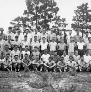 Forestry Camp for Farm Boys group photo