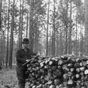 Timber Stand Improvement demonstration on farm of Mrs. David Willis