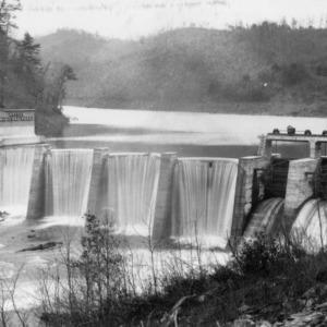 Water powered dam