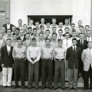 Group photograph including some in uniform