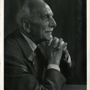 Dr. Carl Alwin Schenck portrait