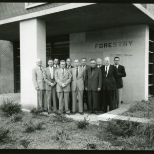 NC Forestry Council, Spring 1958
