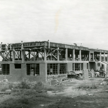 Construction of Robertson Pulp and Paper Laboratories