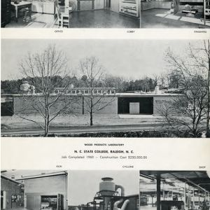 Wood Products Laboratory, N. C. State College