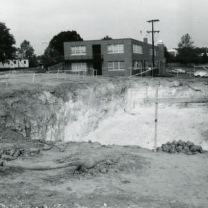 Excavation for Biltmore Hall