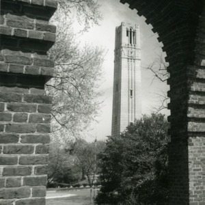 Photograph of Bell Tower taken from Holladay Hall