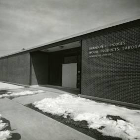 Brandon P. Hodges Wood Products Laboratory, School of Forestry
