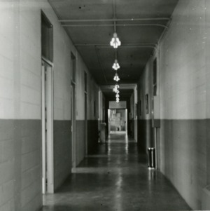Hallway in Pulp and Paper Lab