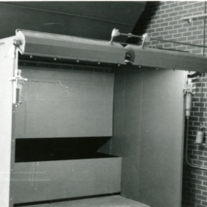 Early lab picture - finishing booth