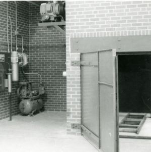 Early lab pictures - kiln area